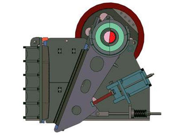 pe系列颚式破碎机结构