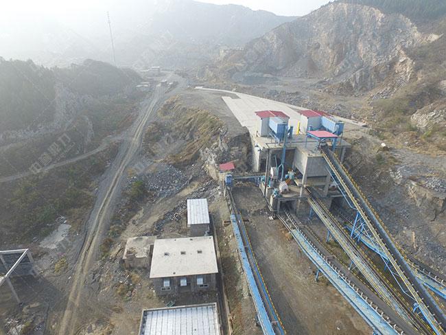 小型河卵石制砂机生产线