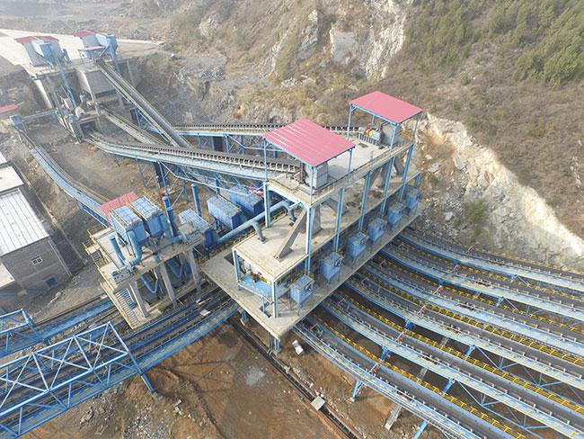 大型碎石生产线