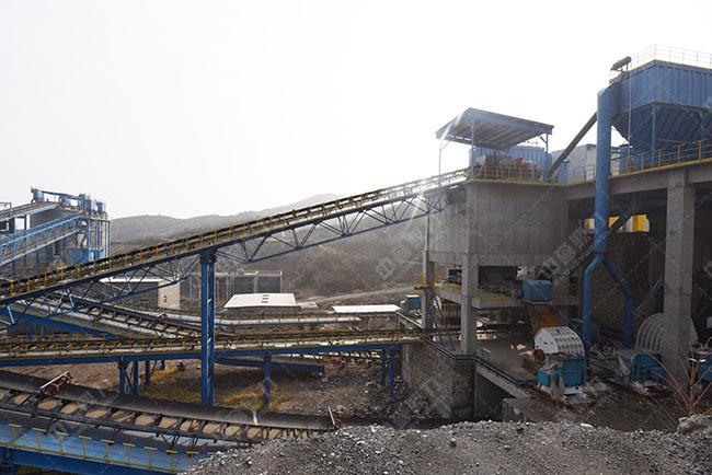 石料制砂生产线