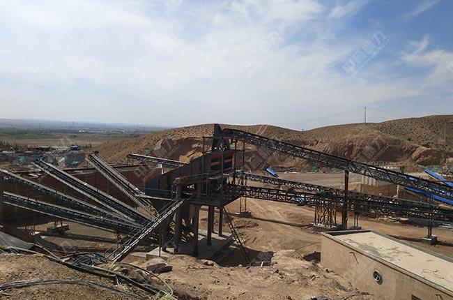 日产两万吨石料生产线